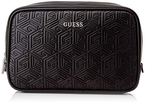 Guess Baldo NECESSAIRE, Backpack Uomo, Black, One Size