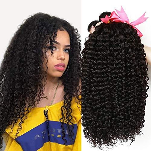 CLAROLAIR extension di capelli ricci naturale brasiliano capelli brasiliano ricci capelli umani ricci capelli veri ricci naturali 300g total (22 24 26'' New)