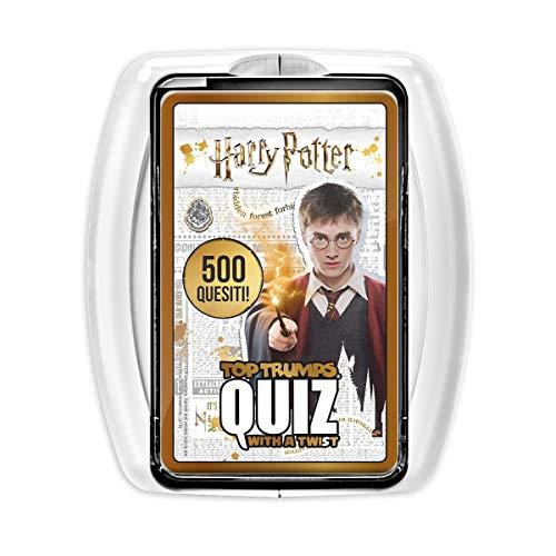 Harry Potter Top Trumps Quiz Game - Italian Edition