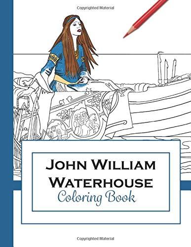 John William Waterhouse: Coloring Book