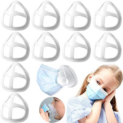 Maxure, supporto interno per il viso, copertura in tessuto fatto in casa, supporto in silicone, più spazio per una respirazione confortevole, ideale per risparmiare rossetti, lavabile,riutilizzabile