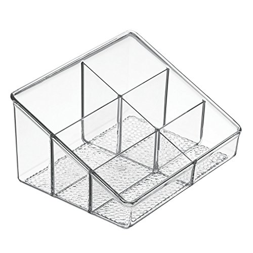InterDesign Rain Organizzatore Cosmetici, 17x20.75x10.75 cm
