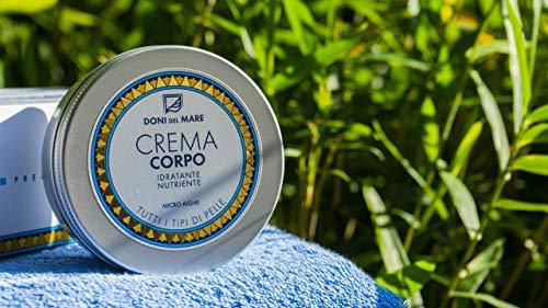 Crema Corpo Doni del Mare| Nutriente Rassodante con Alga Spirulina| 150ml|