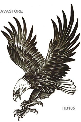 Tatuaggio Temporaneo - Tatuaggio effimera Aquila Reale