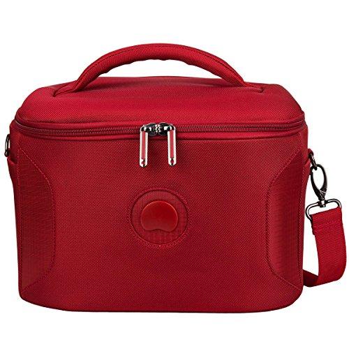 DELSEY PARIS U-LITE CLASSIC 2 Beauty Case da viaggio, 31 cm, 16 liters, Rosso (Rouge)