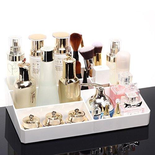 Contenitore di cosmetici Contenitore di materiale PS resistente Protezione dell'ambiente senza formaldeide 31,5 * 20 * 8,2 cm Organizzazione interni