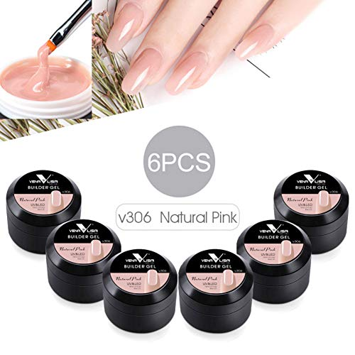 CWJCZY Nuovi prodotti Gel perunghieall'ingrosso Gel perextension per unghie Gel per costruzione spesso Gel uv mimetico naturale 15 ml Manicure