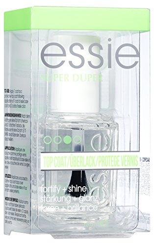 Essie Top Coat Unghie Super Duper, Formula ad Asciugatura Rapida, Rinforzante e Brillante, 13.5 ml