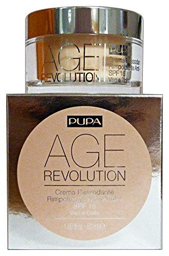 Pupa Age Revolution Crema Rassodante Rimpolpante Antirughe Spf 15-50 ml