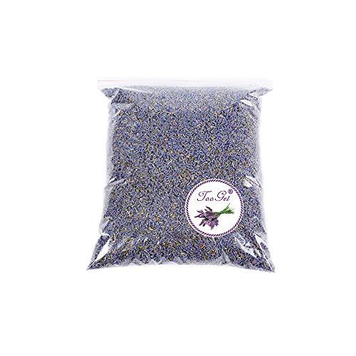 TooGet Fragrante Fiore di Lavanda Naturali Fiori Secchi di Lavanda Essiccata,100% Puro Miglior Odore di Lavanda, Alta qualità - 225g