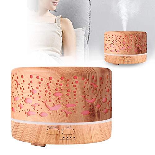 Redxiao Home Aroma Olio Essenziale Umidificatore Diffusore di aromi Camera da Letto Luce Notturna a LED(110~240V, European Standard)