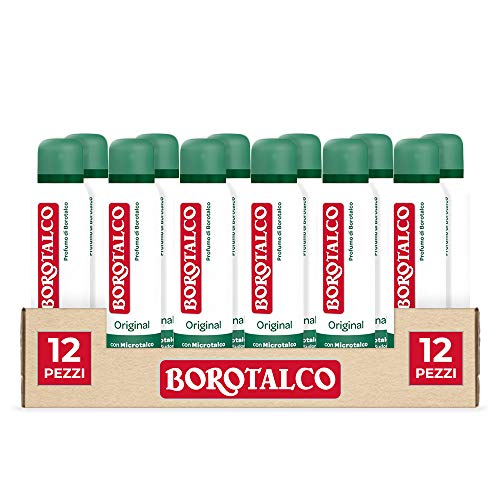 Borotalco Spray Original, 12 x 150 ml