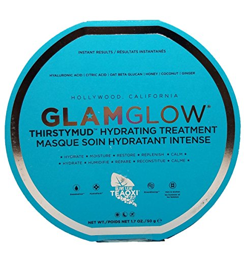 GLAMGLOW Thirstymud Hydrating Treatment, confezione da 1 (1 x 50 g)