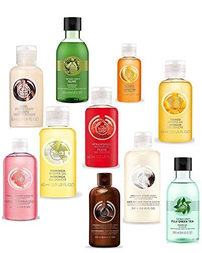 Body Shop - Set di 2 gel doccia / bagnoschiuma – 250 ml ciascuno – selezionati a caso
