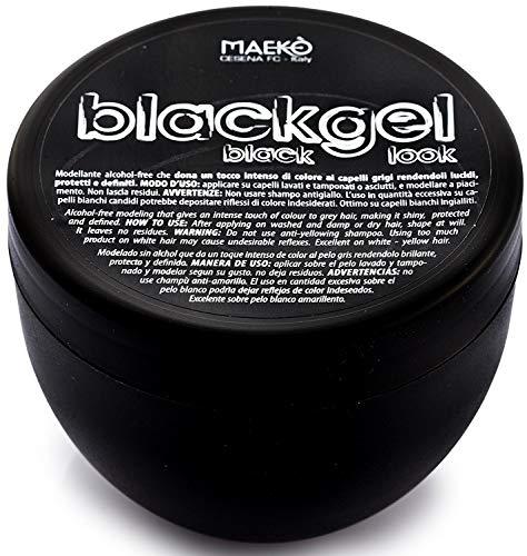 MAEKO' Blackgel black gel vaso 300ml