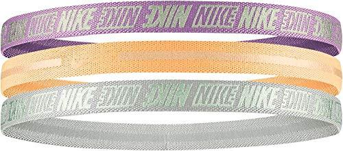 Nike N0002756925OS 925 - Confezione da 3 fasce per capelli