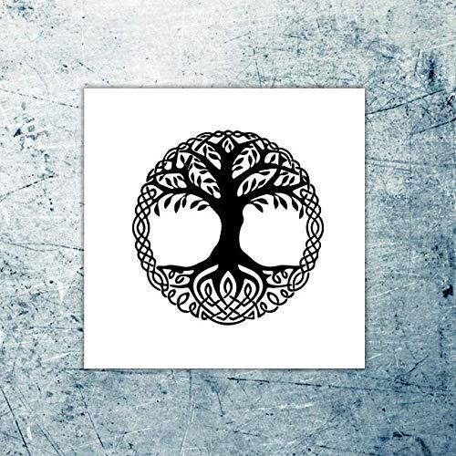 Viking Norse - Tatuaggio temporaneo (set di 2)