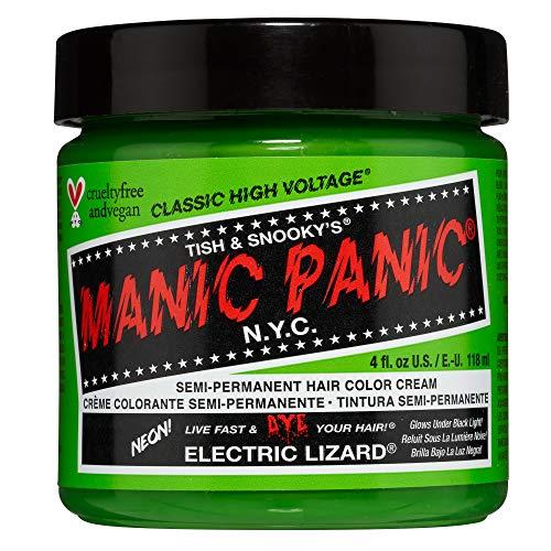 Manic Panic - Electric Lizard Classic Creme Vegan Cruelty Free Semi-Permanent Hair Colour 118ml