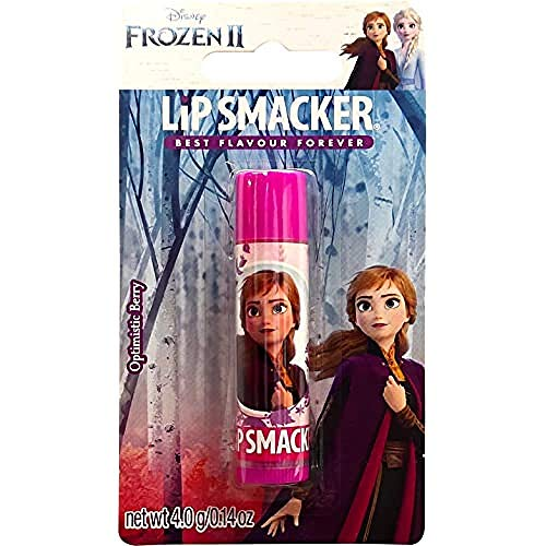 Lip Smacker 0050051105155 Disney Frozen Anna Single Balm, Frutti di Bosco, 4 g (Confezione da 1)