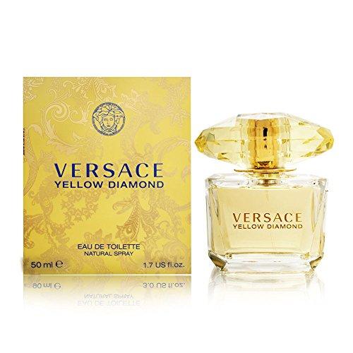 Versace Yellow Diamond Eau De Toilette, 50 ml