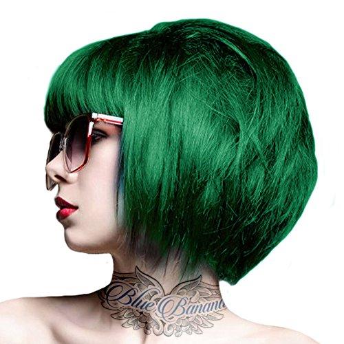 Tintura Per Capelli Semi-Permanente 100ml Crazy Color (Verde Smeraldo)