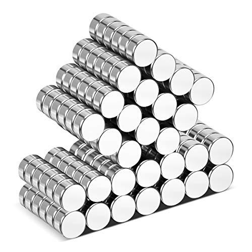 Wukong 105 Pack Magneti per Frigorifero, Calamite per Lavagna, Forte Presa Magnetica,6mm X 3mm