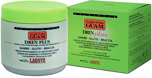 GUAM Alghe fango Dren Plus Intensiv entwaessernd e antioxidativ 500G