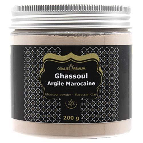 Rhassoul | Ghassoul Premium Organic Clay per maschera per il viso, cura dei capelli, scrub per il viso, maschera per capelli, scrub per il corpo, cura della polvere naturale. Shampoo
