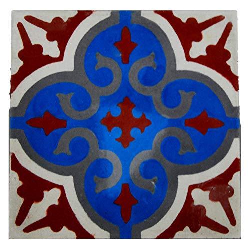 Cementine Marocchine Marocco Piastrelle Mattonelle Etniche 20x20 Patchwork Mosaico 002