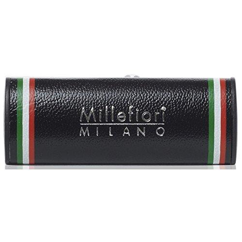 Millefiori Profumo per auto Millefiori ICON colore nero con bandiera italiana fragranza Cold Water