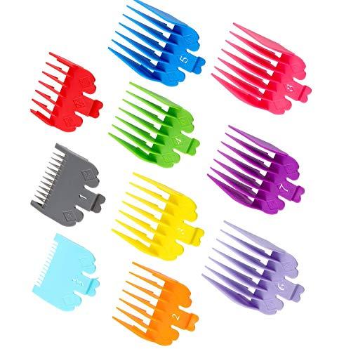 GOTONE 10 colori professionale Trimmer/Clipper Guide di taglio codificate/pettini per Wahl Trimmer Elettrico Rasoio Pettine per Capelli
