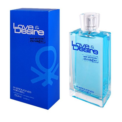 Love & Desire per Uomo 50 ml Eau De Toilette con feromoni