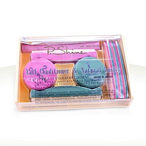 Ocibel–Set per Manicure giapponese P. Shine, unghie finte e nail art