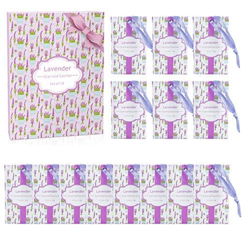 SCENTORINI Sacchetti Profumati di Lavanda Bustina Profumata per Cassetti Armadi e Guardaroba (10g x 14 bustine)