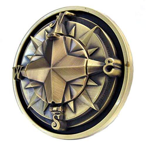 kompass-buckle con Real bussola, marinaio, tatuaggio - Fibbia Cintura