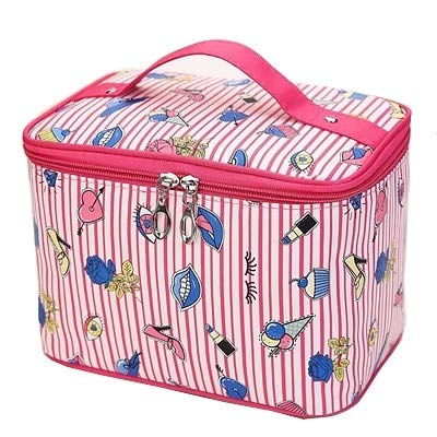Flamingo Cosmetic Bag Necessaire Travel Organizer Make up Box Toiletry Kit Wash Toilet Bag Large Waterproof Pouch ZDH022 11