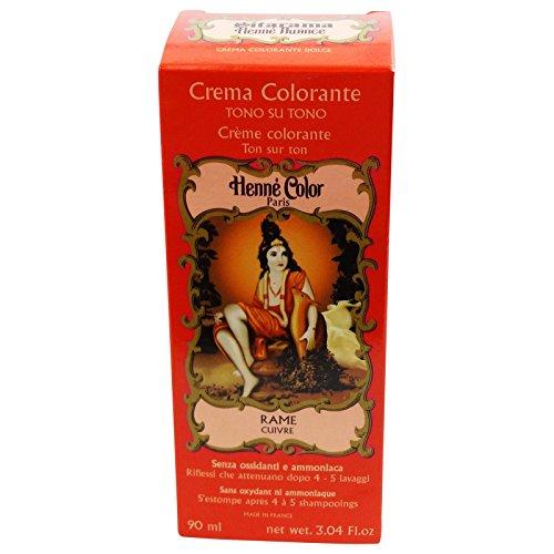 Sitarama Henne in Crema Rosso Rame Tintura Naturale EcoBio