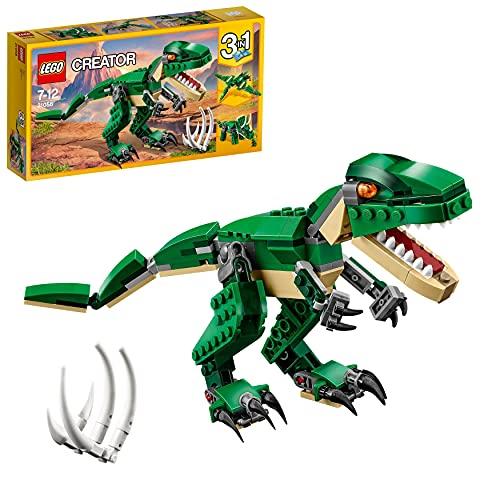 LEGOCreatorDinosauro,Modello3in1,FiguredelTriceratopoePterodattilo,SistemadiCostruzioneModulare,31058