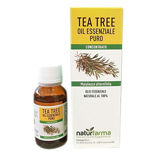 Tea tree oil Olio Essenziale Flacone da 20 ml Puro e naturale Australiano al 100% – supporto contro Imperfezioni della Pelle, Acne, Funghi delle Unghie
