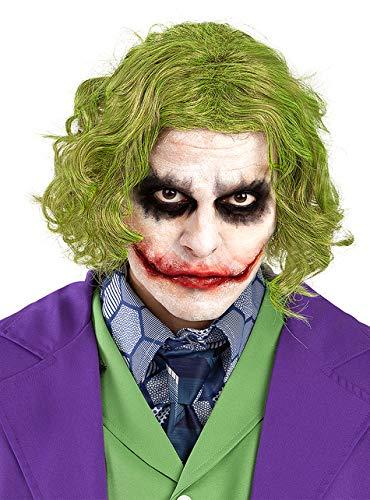 Funidelia | Parrucca Joker da - Il Cavaliere Oscuro Ufficiale per Uomo ▶ Supereroi, DC Comics, Cattivi, Accessorio per Costume