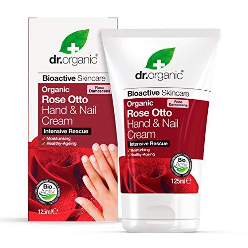 Dr. Organic Rose Otto Hand & Nail Cream - Crema Mani 125 ml