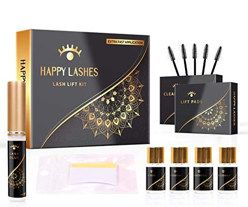 Happy Lashes Kit Professionale per Laminazione e Permanente - Applicazione extra veloce By E Shoppr