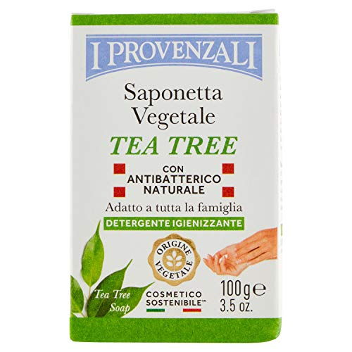 I Provenzali Saponetta Vegetale, Tea Tree, 100g