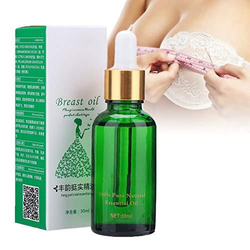 Olio essenziale per la cura del seno, 30ml Massaggio per l'ingrandimento del seno Massaggio rassodante e lifting