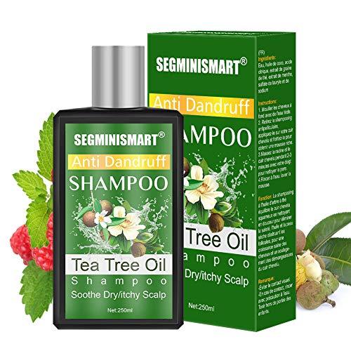 Shampoo Tea Tree Oil,Olio Essenziale dell'Albero del Tè Olio di Shampoo,Tea TreeOil Antiforfora shampoo,Shampoo Antiforfora Uomo e Donna Arricchito con Tea Tree Oil