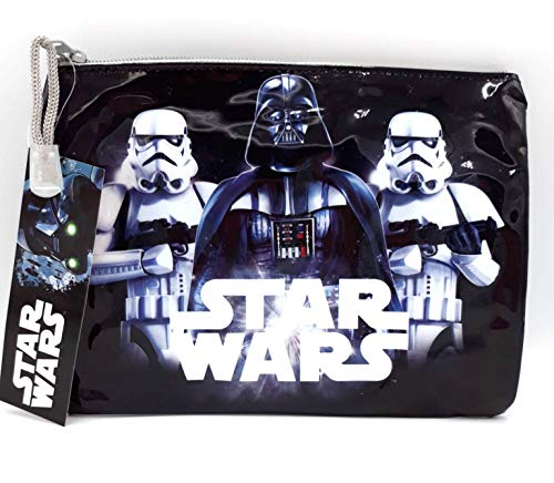 Beauty case impermeabile Star Wars con Darth Vader e Stormtroopers