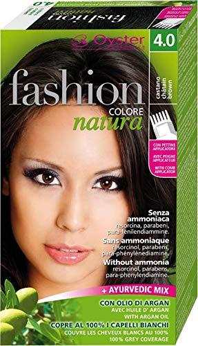 Fashion Natura Colore Capelli Senza Ammoniaca, Castano 4.0