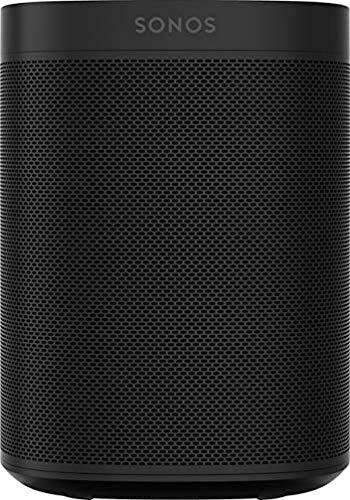 Sonos One Generazione 2 Smart Speaker Altoparlante Wi-Fi Intelligente, con Alexa integrata, AirPlay e Google Assistant, Nero