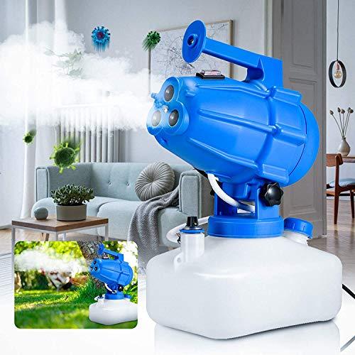 Kacsoo Nebulizzatore Elettrico ULV Atomizzatore Portatile 5L Nebulizzatore per pesticidi Cavo di Alimentazione 5M Distanza di spruzzo 10M per Indoor Outdoor Garden Home Hotel School 1200W (B)