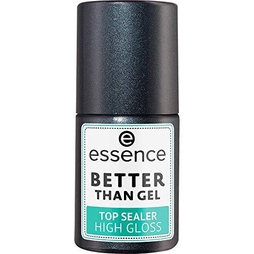Better Than Gel Top Sealer High Gloss ESSENCE Top Coat Sigillante Donna 10 ml Pennellino